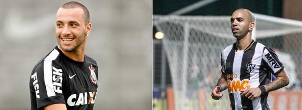 montagem galo e cor 606 (Foto: Rodrigo Coca/Ag. Corinthians/Bruno Cantini/Site Oficial do Atlético-MG)