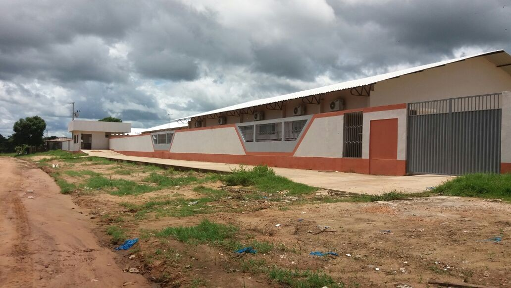 Escolas estão concluídas e aulas ainda não começaram (Foto: Arquivo Pessoal/Alaílson Soares)