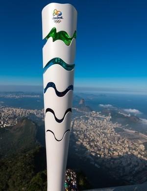 Tocha Olímpica do Rio 2016 (Foto: Alex Ferro/Rio 2016)