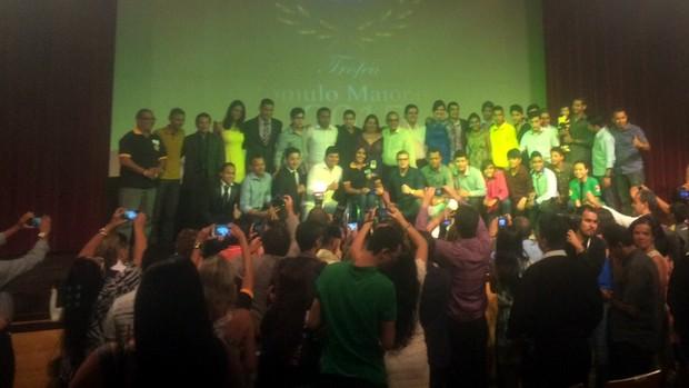 Confira os vencedores do Troféu Romulo Maiorana 2015 (Jorge Sauma/GloboEsporte.com)