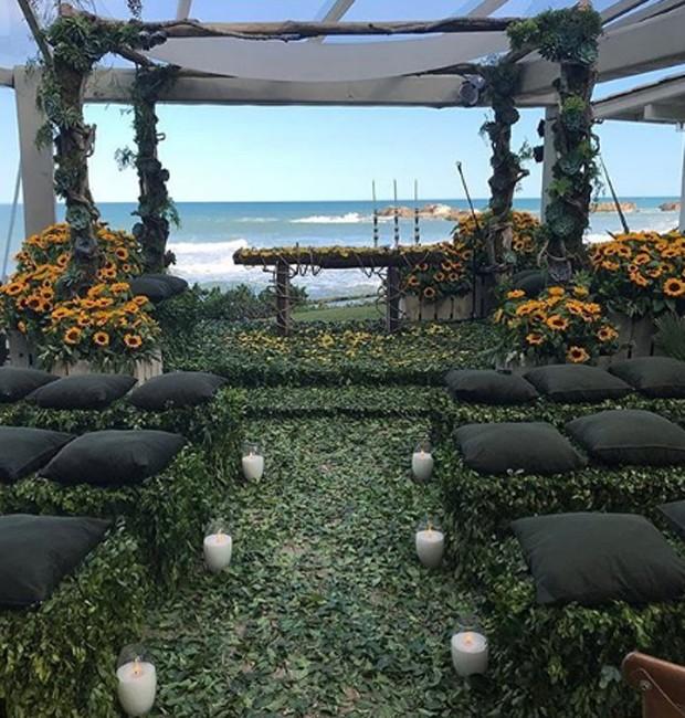 Detalhes da decoração do casamento de Bia Feres (Foto: Reprodução/Instagram)