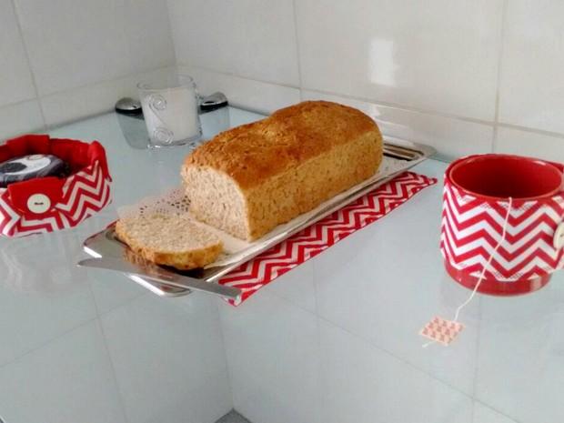 Pode ser servido com geleia de amora sem açúcar ou  geleia de cupuaçu  (Foto: Ive Rylo/G1AM)