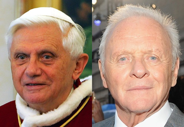 Papa Bento XVI pode ser interpretado por Anthony Hopkins em filme de Fernando Meirelles (Foto: Getty Images)