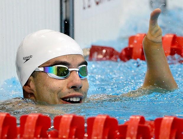 Daniel Dias natação paralimpíadas (Foto: AP)