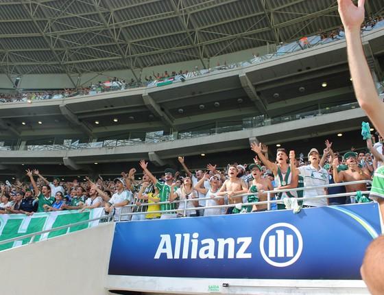 Allianz Parque, estádio do Palmeiras, administrado pela WTorre (Foto: Thiago Fatichi / Divulgação)