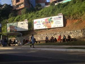 A maioria dos pontos tem movimento tranquilo, mas alguns já começam a ficar mais cheio (Foto: Juliana Almirante/G1 Bahia)