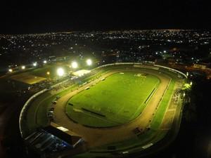 Estádio Gigante do Norte, Sinop (Foto: Leandro De Marco/Assessoria Sinop)