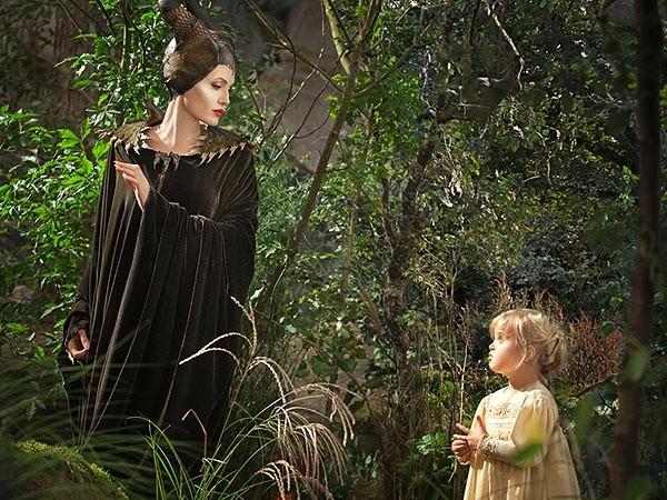 Angelina Jolie e Vivienne Jolie-Pitt  (Foto: Divulgação)