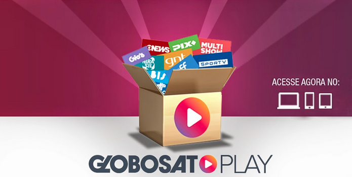 Globosat Play: disponível via Internet no navegador desktop e em aplicativos móveis (Foto: Reprodução/Globosat)