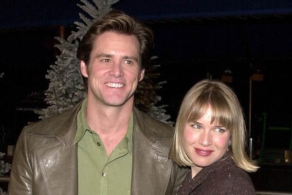 Jim Carrey e Renée Zellweger (Foto: Reprodução//Getty Images)