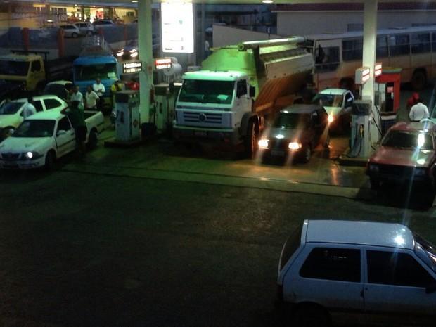 Posto de Combustível Rio Paranaíba (Foto: Patrícia Borges/Arquivo Pessoal)