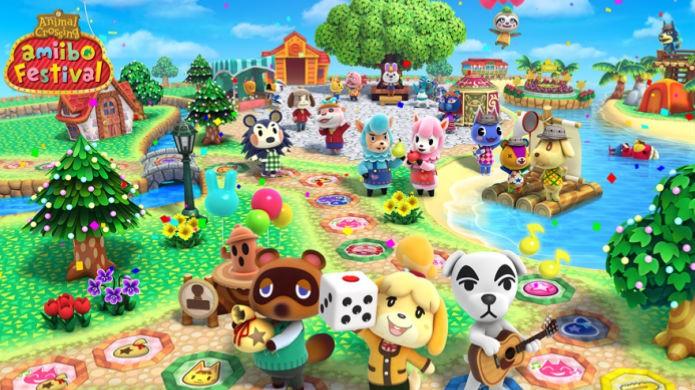 Animal Crossing Amiibo Festival é fofo, mas enfadonho (Foto: Divulgação/Nintendo)