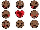 Empresa lança 'emoticons' negros para 'celebrar nossa diversidade'