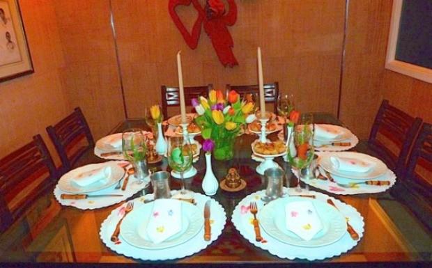 40 forever - mesa de jantar2 (Foto: Reproduo / 40 Forever)