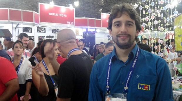 Pedro Bruno, da MCI (Foto: PEGN)