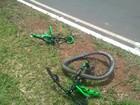 Após 3 h em coma, morre ciclista atropelado por caminhonete no DF