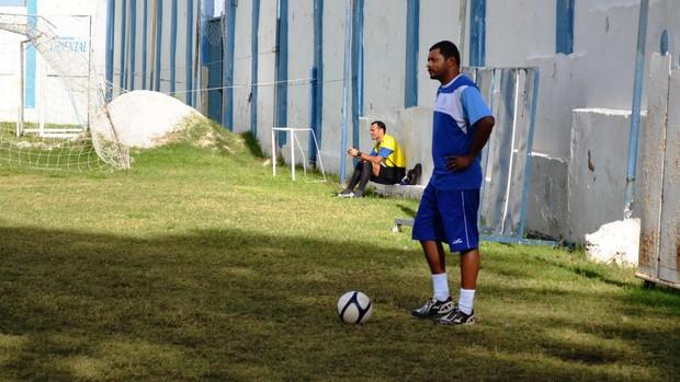 Nadélio Rocha quer o titulo neste domingo (2) (Foto: Felipe Martins/GLOBOESPORTE.COM)