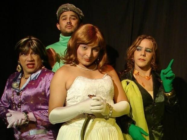 """Companhia de Teatro """"Apareceu a Margarida"""" (Foto: Divulgação)"""