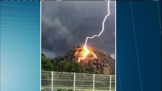 Incidência de raios no Ceará já passa o total de todo o ano passado