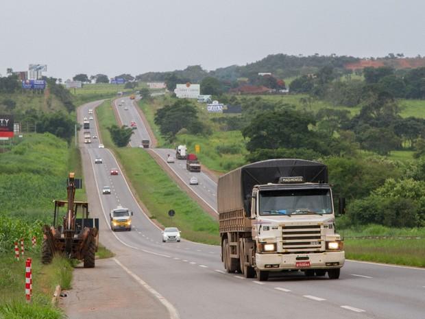 Furto e roubo de cargas aumenta em Goiás e Anápolis é um dos principais alvos em Goiás (Foto: Vitor Santana/G1)