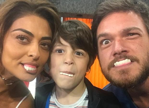 Juliana Paes, João Bravo e Emílio Dantas (Foto: Reprodução/Instagram)