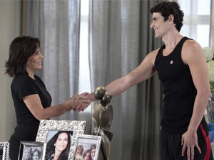 Esses dois estão cada vez mais próximos (Foto: Guerra dos Sexos/ TV Globo)
