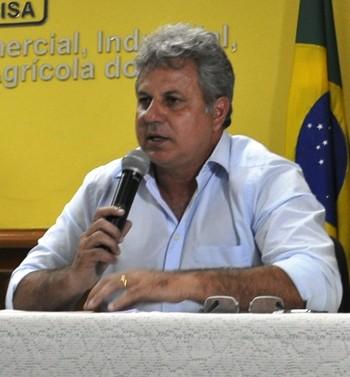 Lourival Marques Filho, presidente do Rio Branco-AC (Foto: Duaine Rodrigues)