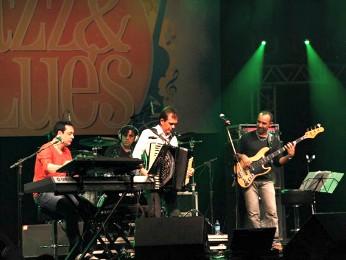 Waldonys e Misael da Hora encerram Festival Jazz & Blues em Fortaleza (Foto: Chico Gadelha)