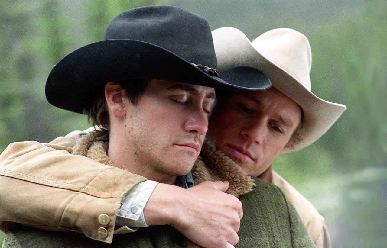 Jake Gylllenhaal e Heath Ledger (Foto: Divulgação)