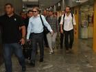 Atores de 'Se beber não case' chegam ao Rio para divulgar filme