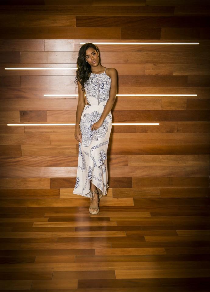 Yara Charry é contra a ditadura da magreza no universo da moda (Foto: Inácio Moraes/ Gshow)