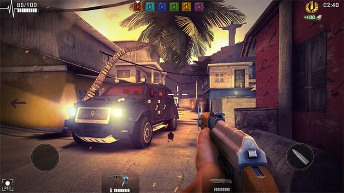 Bullet Rush é o mais bonito da lista e tem fase no Rio (Foto: Divulgação/Cmune)