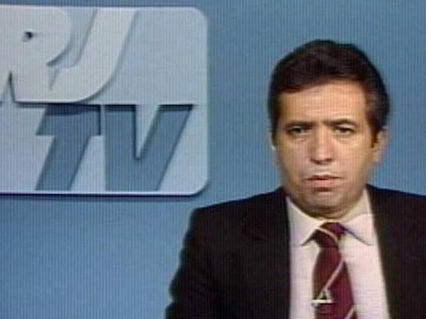Berto Filho foi apresentador de telejornais da TV Globo na década de 80 (Foto: Reprodução/ Internet)