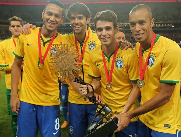 Brasil campeão Superclassico, Brasil x Argentina (Foto: Heuler Andrey / Mowa Press)
