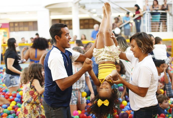 evento divulgação saltos ornamentais (Foto: Daniel Ramalho / Rio 2016)