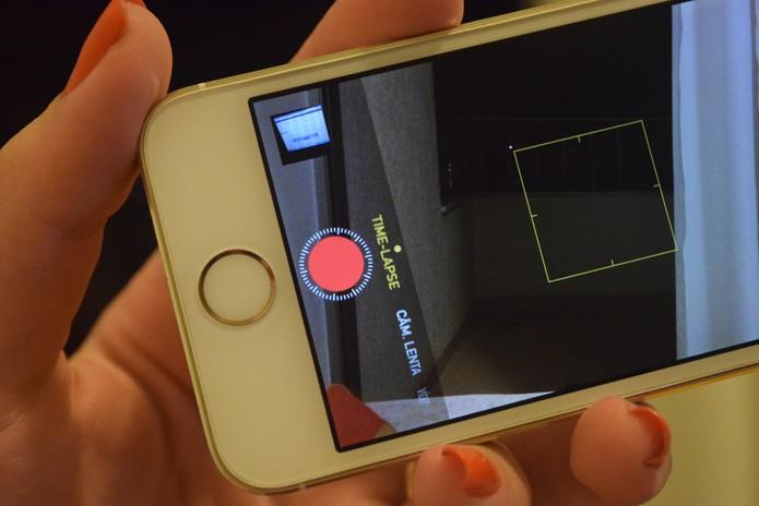 Use o modo time-lapse para criar registros diferentes (Foto: Juliana Pixinine/TechTudo)