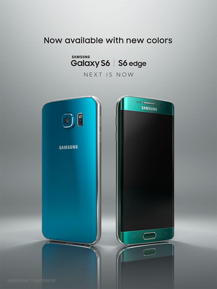 Novas cores dos smarts da Samsung foram anunciadas (Foto: Divulgação/Samsung)