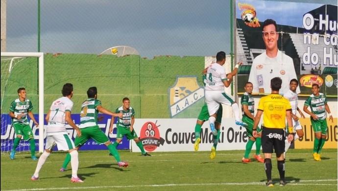 Coruripe e Murici empataram por 1 a 1 (Foto: Divulgação / Murici)