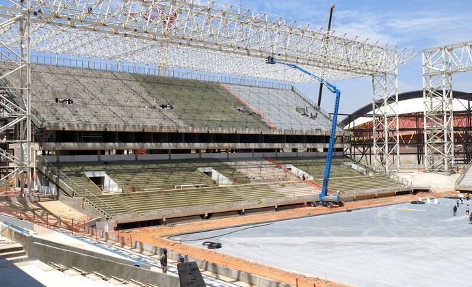 Copa do mundo Arena Pantanal (Foto: Felippe Costa)