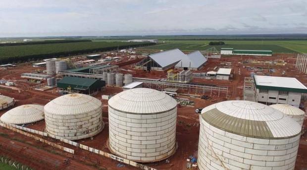 A FS Bioenergia está localizada em Lucas do Rio Verde, em Mato Grosso (Foto: Divulgação)