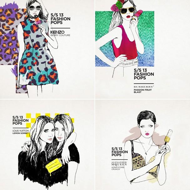 As inspirações da designer foram as tendências dos desfiles Verão 2013 (Foto: Divulgação)