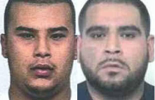 Noel Portillo, de 22 anos e Ricardo Robles, de 24 anos, foram presos ao roubar a gordura do restaurante (Foto: Divulgação)