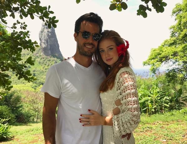 Marina Ruy Barbosa e o noivo Xandinho Negrão (Foto: Reprodução / Instagram)