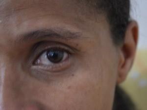 Vítima diz que tomou coragem e denunciar ex-parceiro após leitura de cartilha com informações da Lei Maria da Penha (Foto: Eliete Marques/G1)