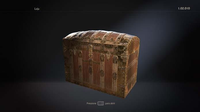 Abra o baú de Uncharted 4 (Foto: Reprodução/Murilo Molina)