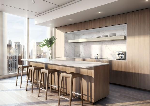 Cozinha integrada é uma das opções (Foto: Reprodução)