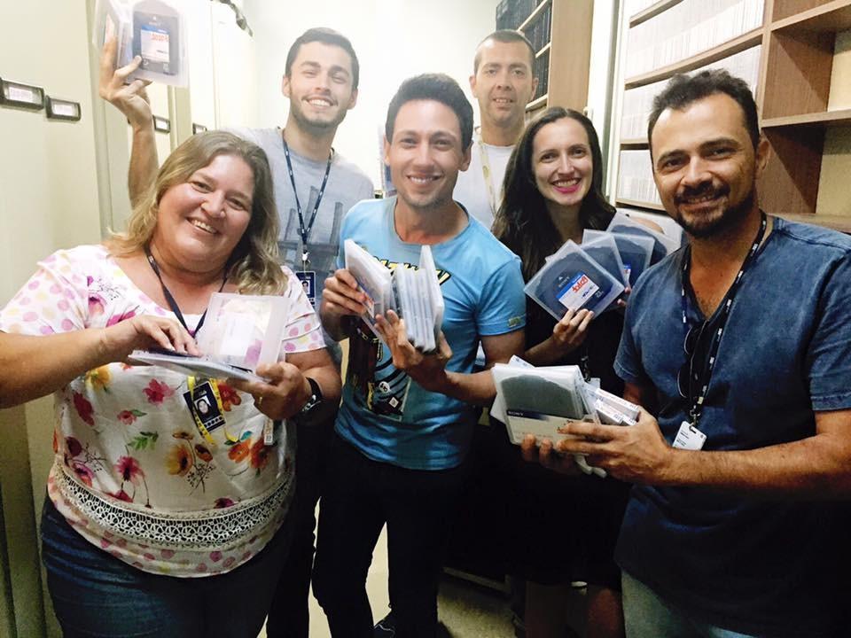 Equipe envolvida na produção da Revisão 2015 (Foto: RBS TV/Divulgação)