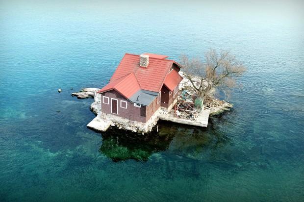 menor-ilha-do-mundo (Foto: Reprodução )