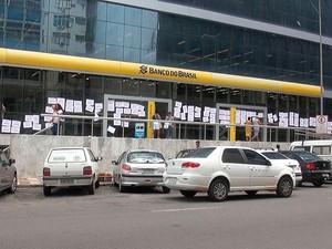 banco (Foto: Gabriel Gonçalves/G1)