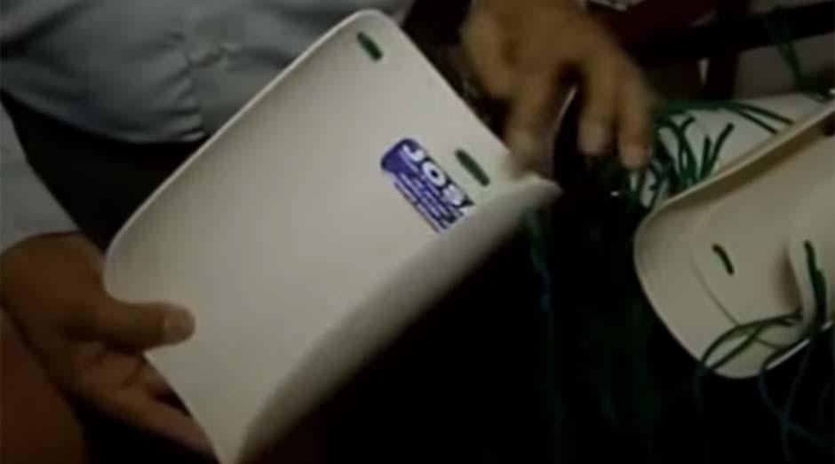 Calçador Josa: produto foi inventado por um MEI (Foto: Reprodução Rede Globo)